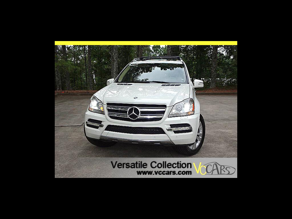 2011 Mercedes-Benz GL-Class 4MATIC Premium Package Navigation Dual Sunroof HID