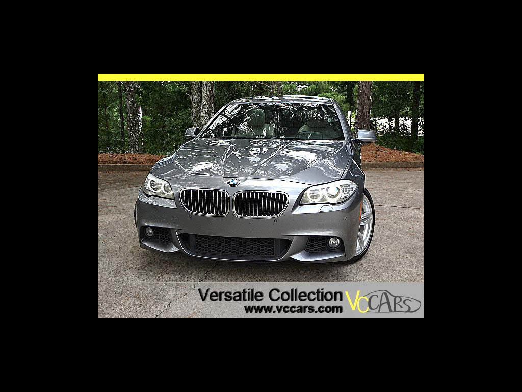 2013 BMW 5 Series M Sports Tech Package
