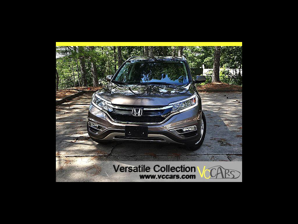 2016 Honda CR-V AWD EX-L Tech Leather Sunroof Blind Spot Camera XM
