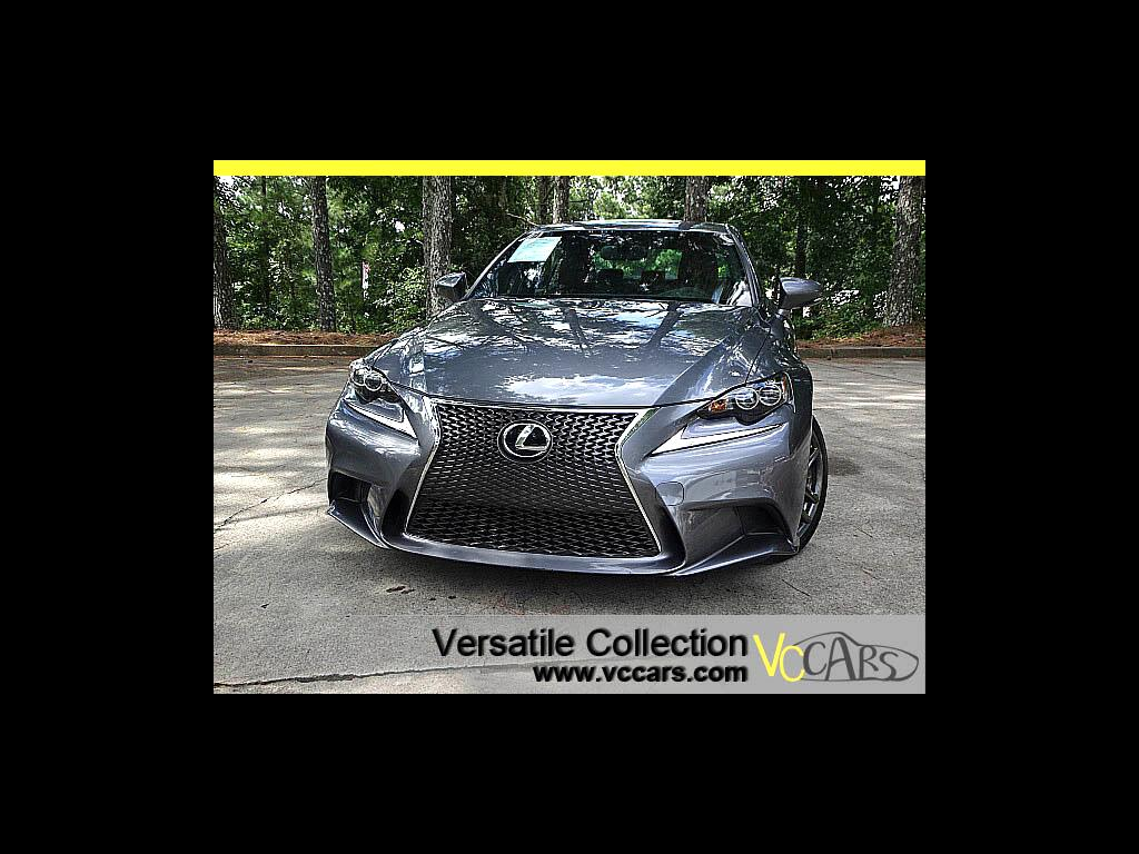 2015 Lexus IS 250 F-Sports Tech Navigation Blind Spot Monitors