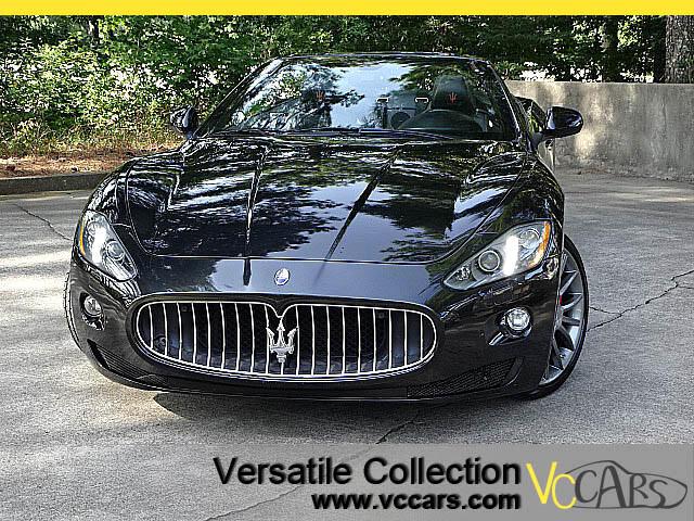 2013 Maserati GranTurismo Convertible Tech Navigation Bose Sound System