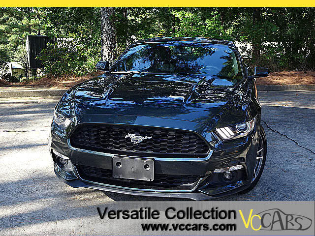 2015 Ford Mustang Premium Tech EcoBoost w/Leather XM BT Camera
