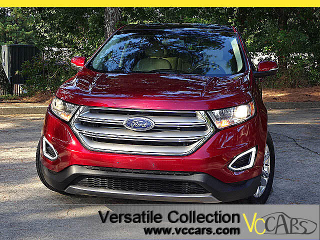 2015 Ford Edge SEL Tech Navigation Panoramic Glass Roof Blind Spo