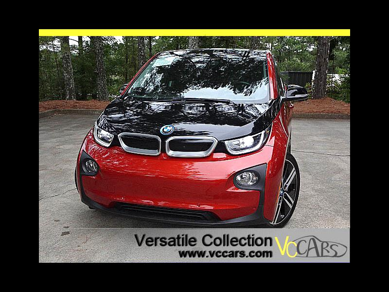 2015 BMW i3 Tera Tech Navigation Leather Heated Seats w/Range