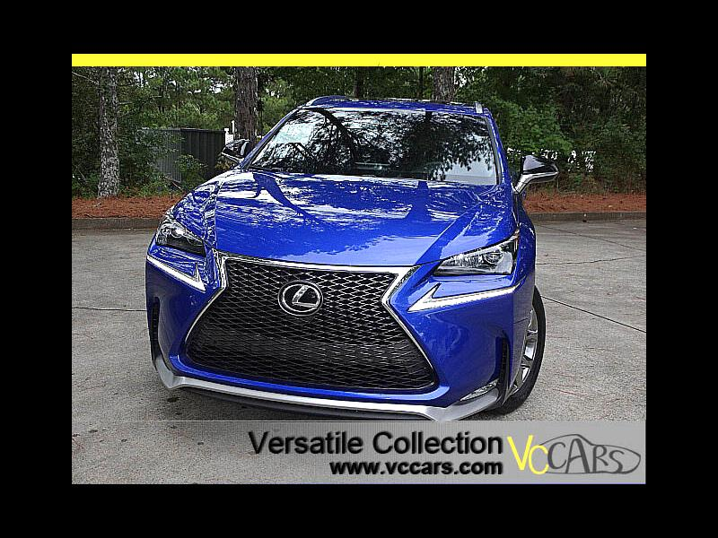2015 Lexus NX 200t F-Sports Tech Navigation Blind Spot Monitors LED H
