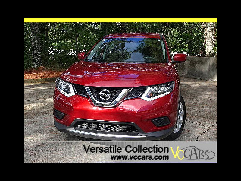 2016 Nissan Rogue S w/ Back Up Camera XM BT