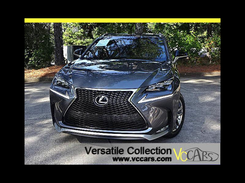 2015 Lexus NX 200t F-Sports AWD Tech Navigation Blind Spot Monitors L