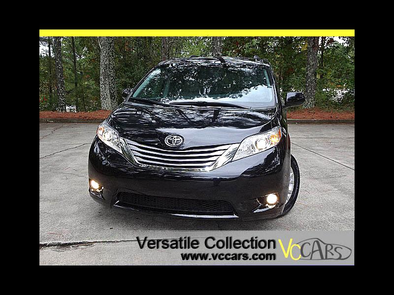 2015 Toyota Sienna XLE Tech Leather Blind Spot Monitors XM BT Camera