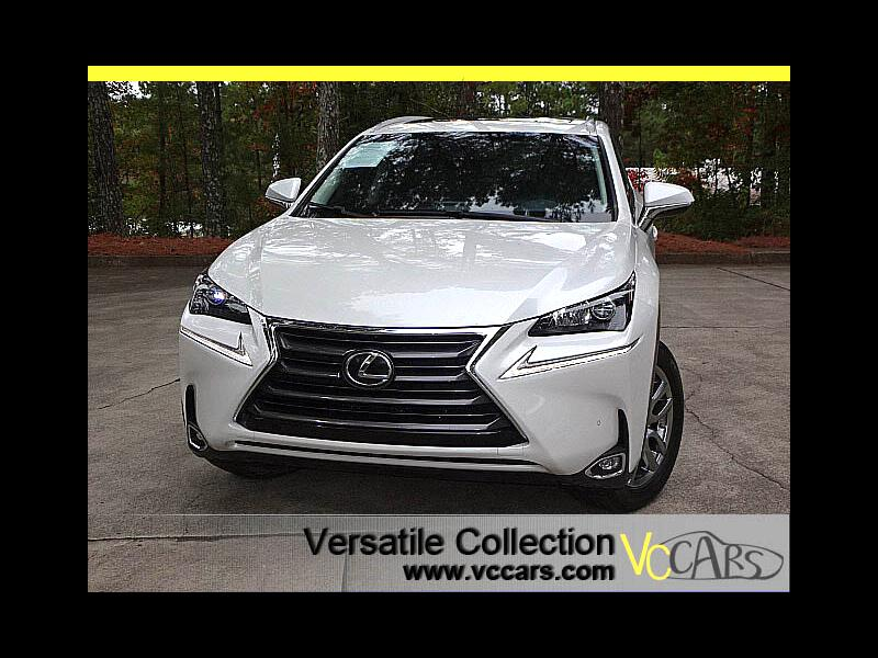 2016 Lexus NX 200t Luxury Tech Navigation Blind Spot Monitors LED HID
