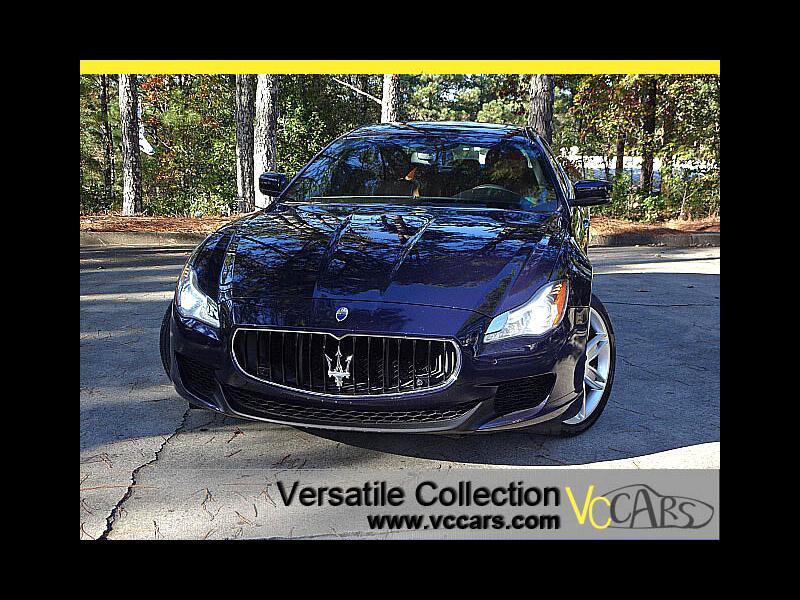 2015 Maserati Quattroporte S Q4 Sports Tech Navigation Camera XM LED HID