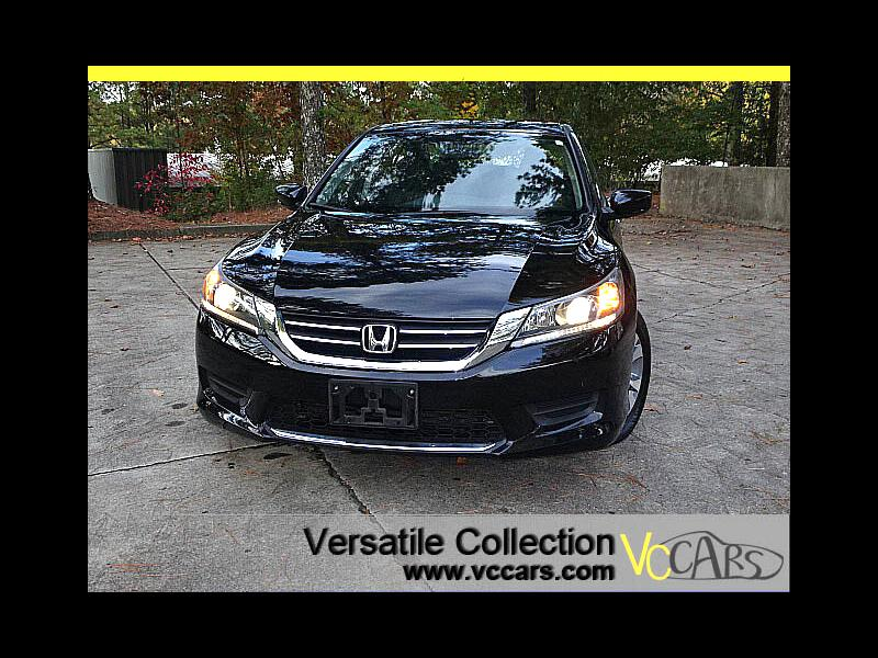 2015 Honda Accord Sedan LX CVT w/ Back Up Camera XM BT Alloys