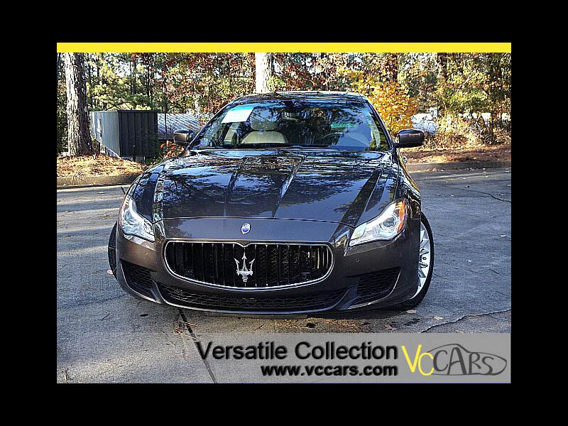 2014 Maserati Quattroporte S Q4 Premium Tech Navigation HID LED XM BT