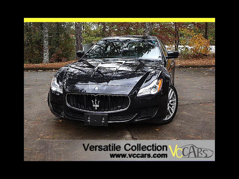 2015 Maserati Quattroporte S Q4 Sports Tech Navigation HID LED XM BT
