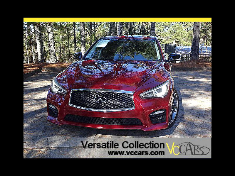 2014 Infiniti Q50 Sports Tech Leather Roof Camera LED HID XM BT