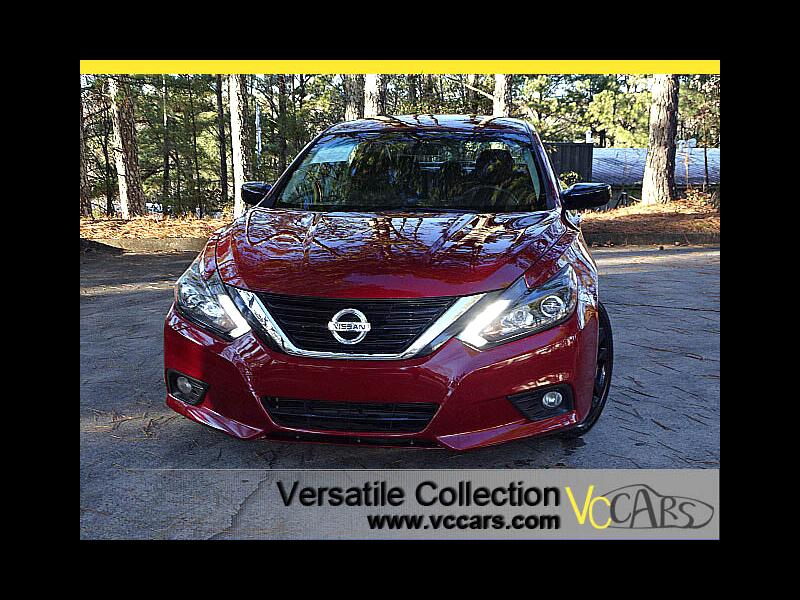 2017 Nissan Altima 2.5 SR Sports Mid Night Edition XM BT LED HID