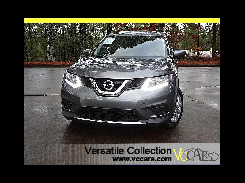 2016 Nissan Rogue S w/Back Up Camera XM BT