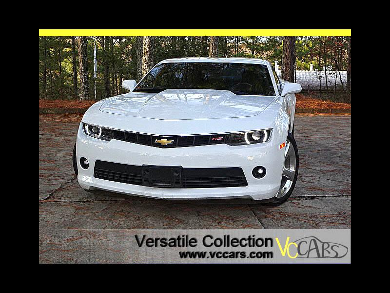 2015 Chevrolet Camaro LT w RS Package Camera XM BT LED HID