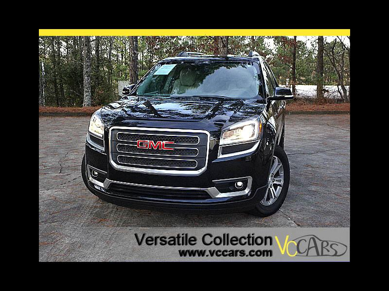 2015 GMC Acadia SLT Tech Navigation RES DVD System Dual Sunroof XM