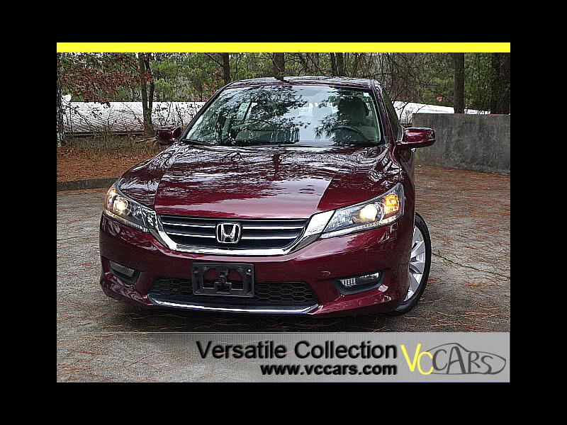 2015 Honda Accord Sedan EX CVT Blind Spot Camera Sunroof XM BT Alloys