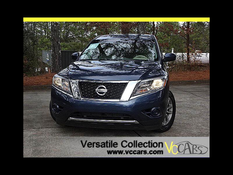 2015 Nissan Pathfinder S 3rd Row Seat Alloys