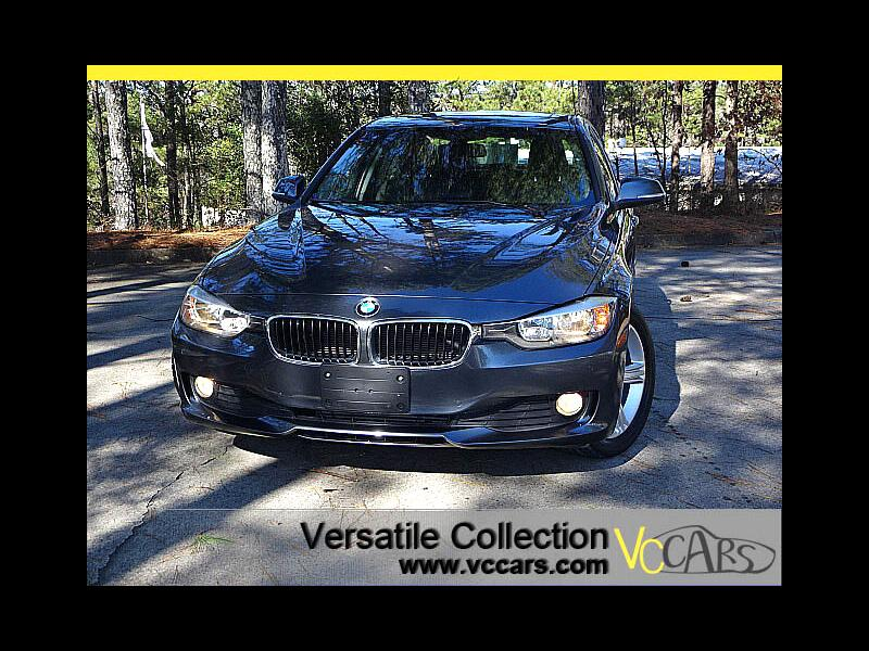 2015 BMW 3 Series 320i RWD Sedan Premium Package Back Up Camera Sunr
