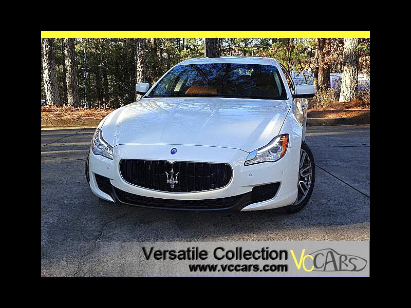 2015 Maserati Quattroporte S Q4 AWD Sports Package Navigation Camera LED HID
