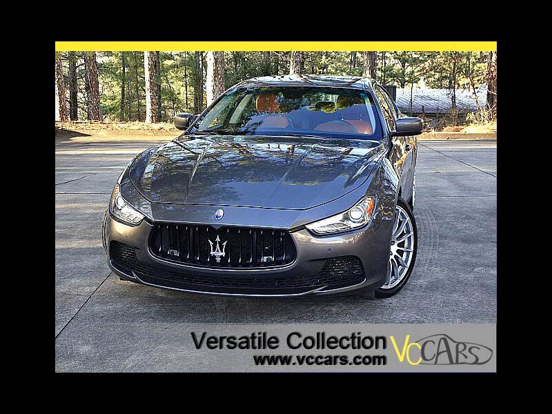 2015 Maserati Ghibli S Q4 AWD Sports Tech Navigation 100 Anniversary Ne
