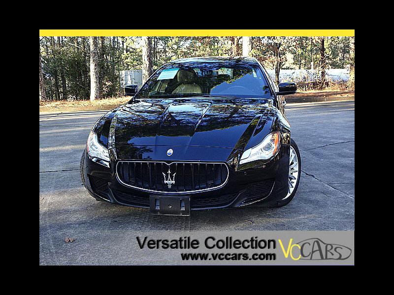 2014 Maserati Quattroporte S Q4 AWD Tech Navigation Camera LED HID XM BT