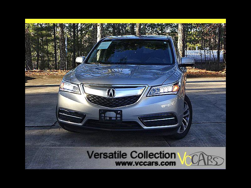 2016 Acura MDX SH-AWD Technology Package Navigation System Blind