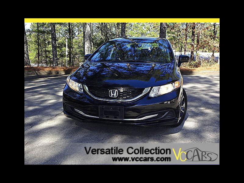 2015 Honda Civic Sedan EX CVT Blind Spot Camera Sunroof XM BT Alloys