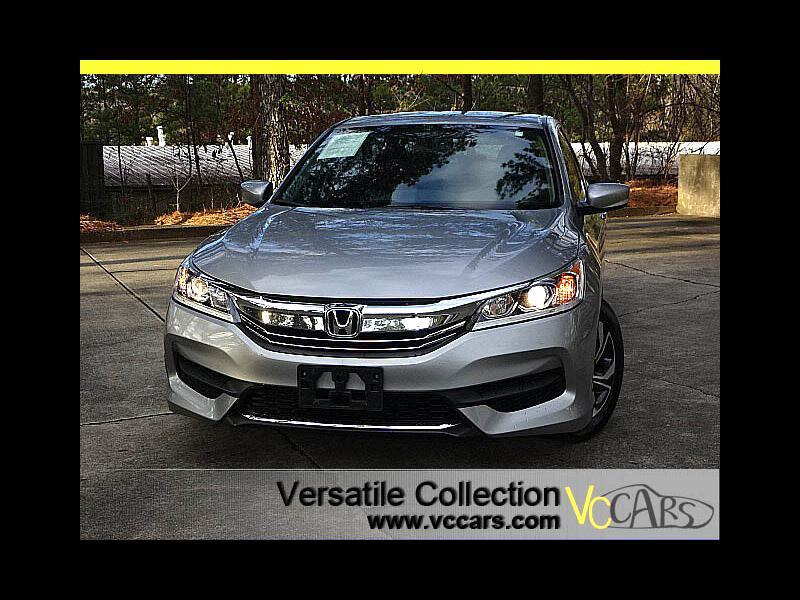 2016 Honda Accord Sedan LX CVT Back Up Camera XM BT Alloys