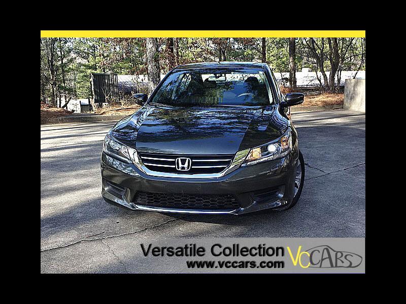 2015 Honda Accord Sedan LX CVT Back Up Camera XM BT Alloys