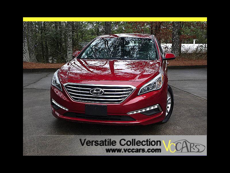 2015 Hyundai Sonata SE Auto PZEV Popular Equipment Package Back Up Cam