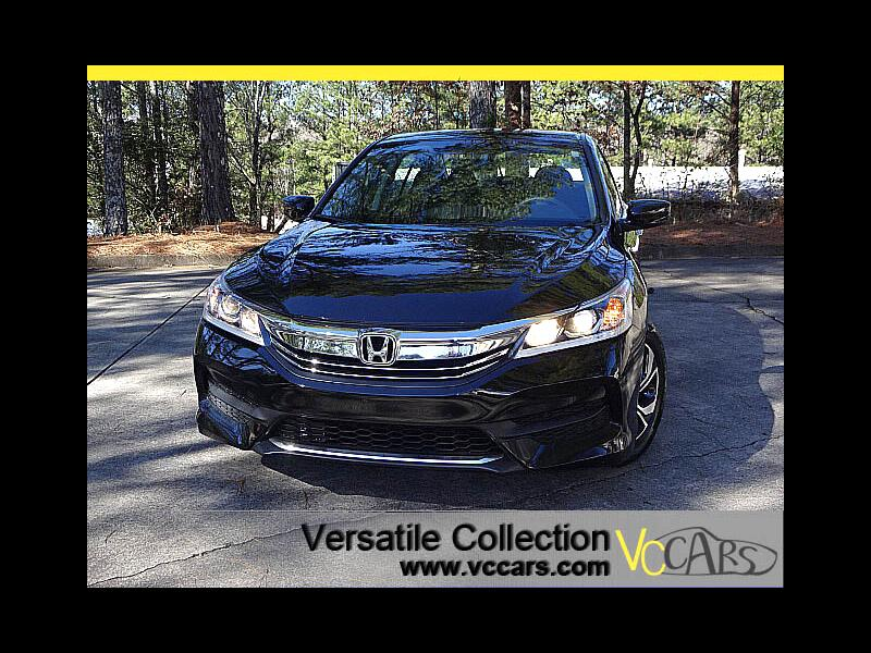 2017 Honda Accord Sedan LX CVT Back Up Camera XM BT Alloys