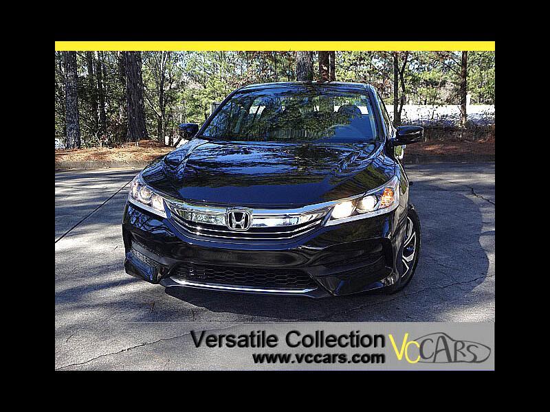 2017 Honda Accord Sedan LX CVT Back Up Camera XM BT Alloys