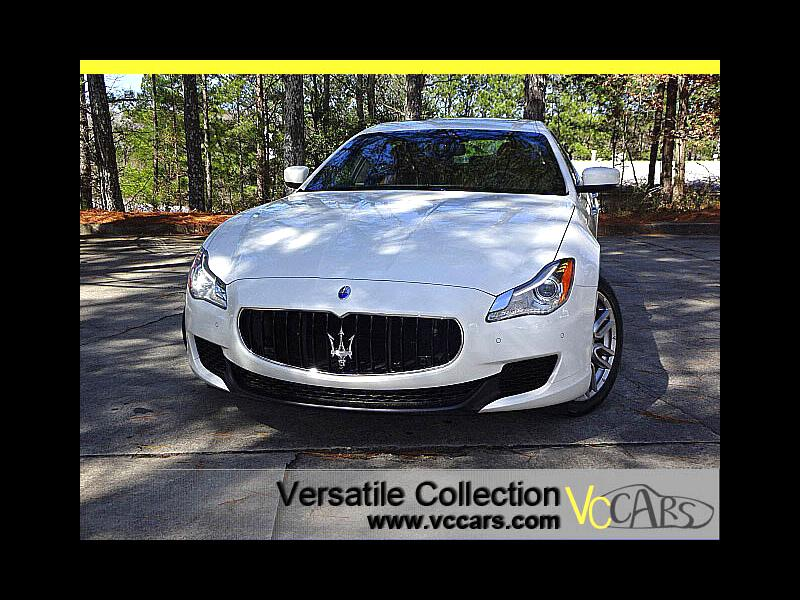 2015 Maserati Quattroporte S Q4 Luxury Tech Package