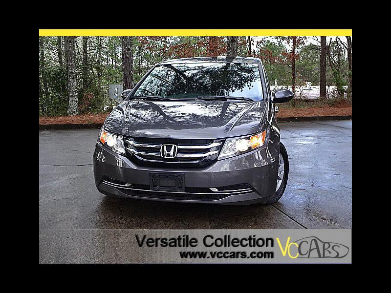 2016 Honda Odyssey EX-L w/Blind Spot Camera LDW Sunroof XM BT Alloys
