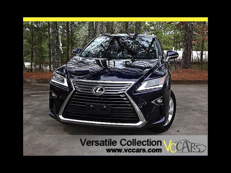 2016 Lexus RX 350 Luxury Tech Navigation Blind Spot Monitors LED HID