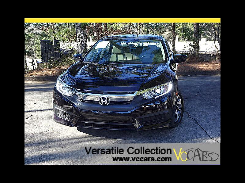 2016 Honda Civic Sedan EX CVT Blind Spot Camera Sunroof XM BT Alloys
