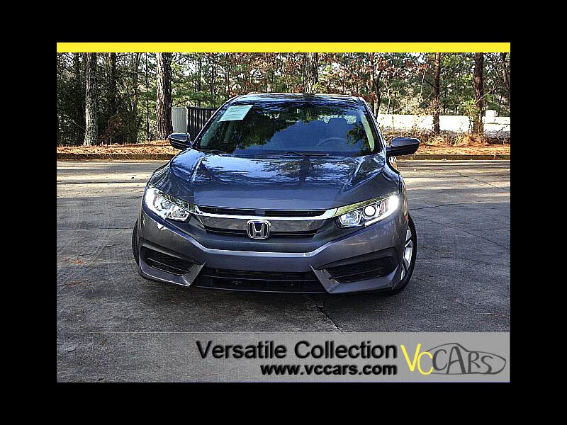 2016 Honda Civic Sedan LX 6 Speed Manual Back Up Camera BT