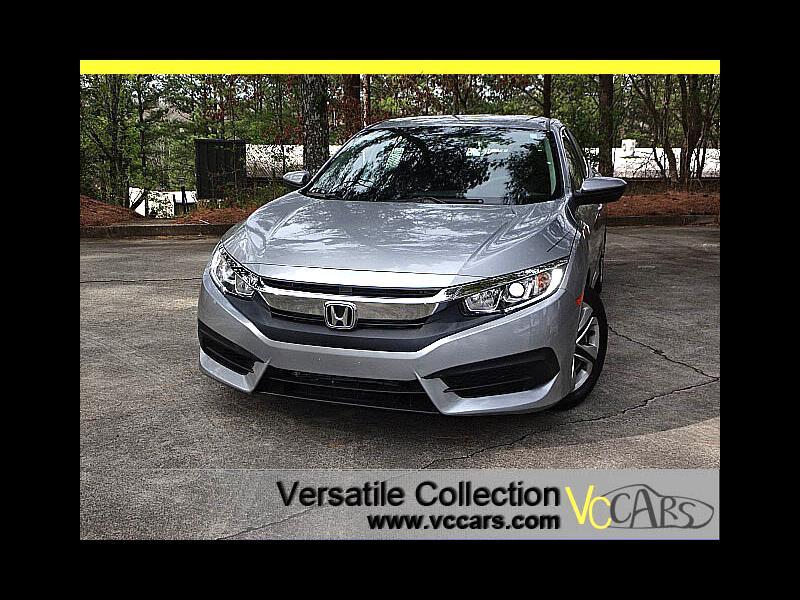 2016 Honda Civic Sedan LX CVT Back Up Camera XM BT