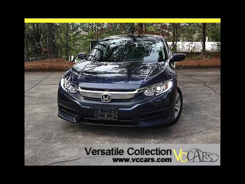 2016 Honda Civic Sedan EX CVT Blind Spot Camera Sunroof XM BT Alloys