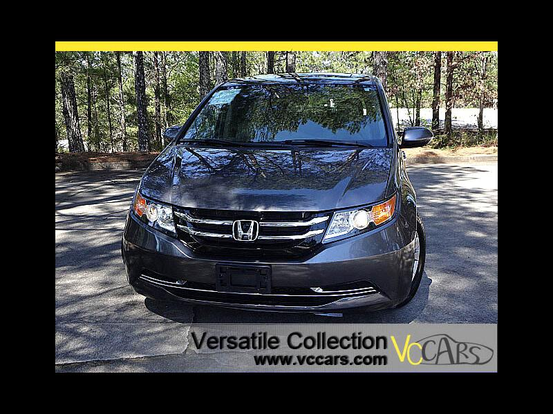 2015 Honda Odyssey EX-L Blind Spot Camera Leather Heated Seats Sunroo