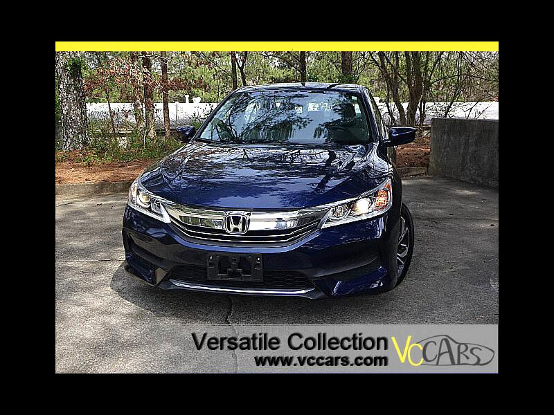 2016 Honda Accord Sedan LX Sedan CVT Back Up Camera XM BT Alloys