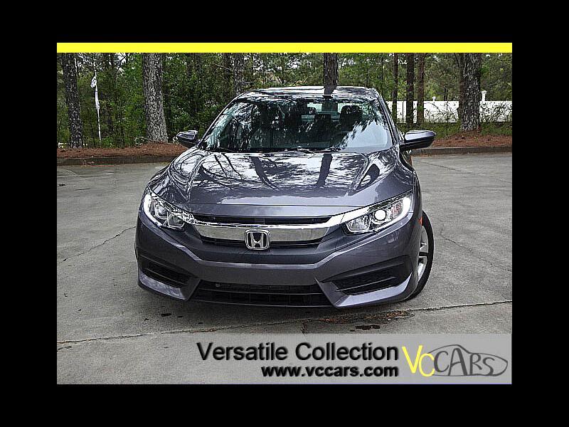2016 Honda Civic Sedan LX Sedan CVT Back Up Camera XM BT