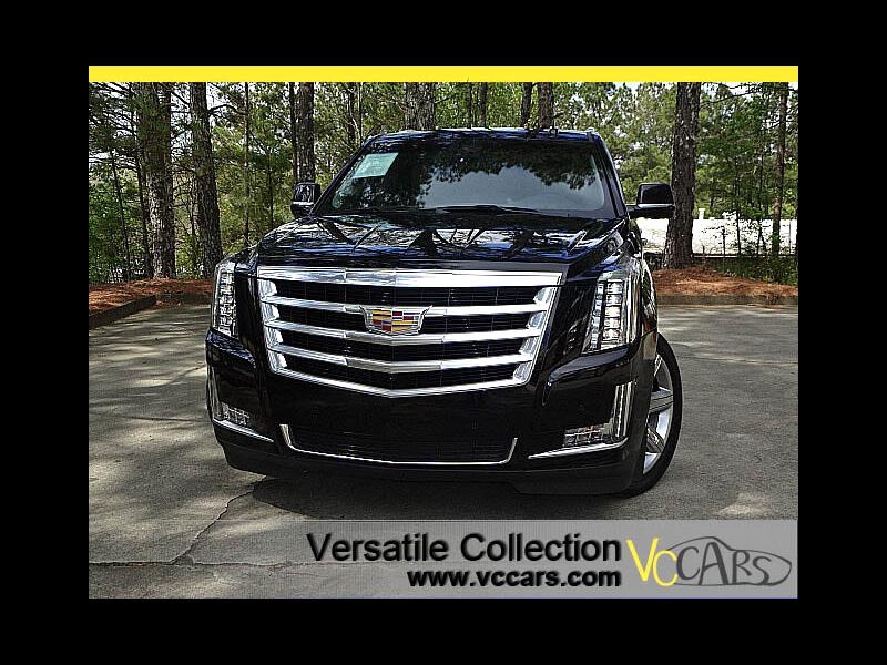 2016 Cadillac Escalade 4WD Luxury Collection Navigation DVD Blind Spot Mo
