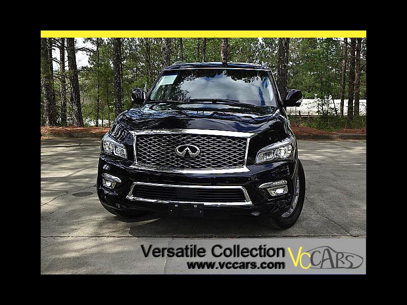 2016 Infiniti QX80 4WD Premium Technology Theater Package