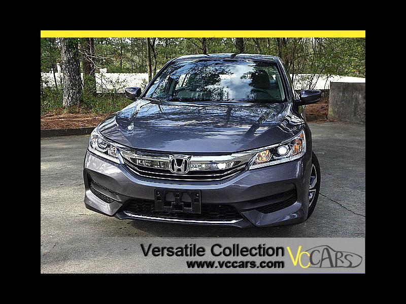 2016 Honda Accord Sedan LX Sedan CVT Back Up Camera XM BT Alloys