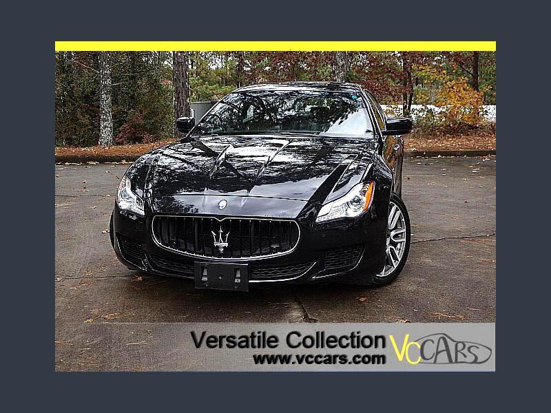 2015 Maserati Quattroporte S Q4 AWD Sports Tech Package Navigation Camera LED