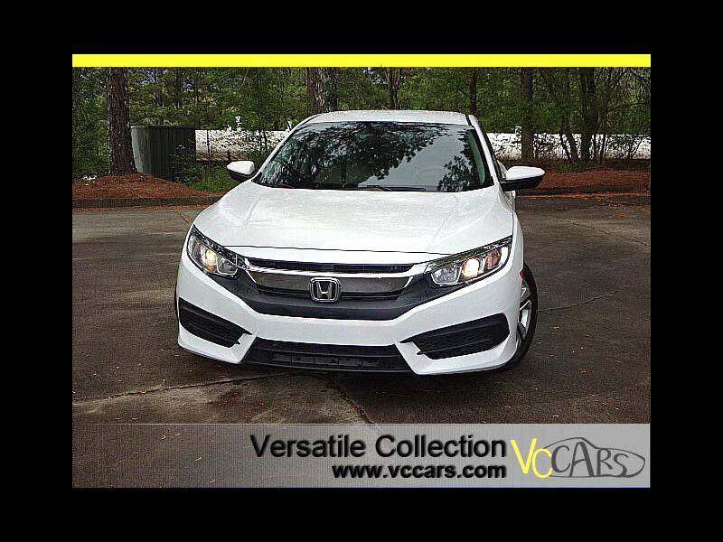2016 Honda Civic Sedan LX Sedan CVT Back Up Camera XM BT